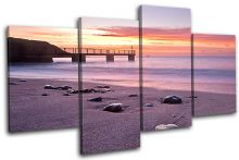 Bowleaze Cove Sunset Seascape - 13-0484(00B)-MP04-LO
